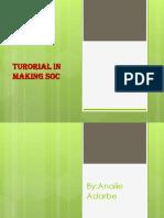 Tutorial in Making SOC-2