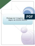 Pilotage d'Irrigation (2)