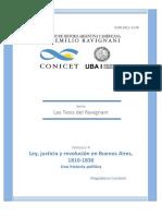 Candioti - Ley, justicia y revolución en Buenos Aires 1810-1830 (Tesis Doc.)