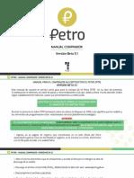 Gobierno publicó manual de compra del petro