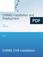 Cwms Install and Deploy