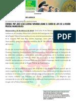 Nota de Prensa Nº 001 Ene2018 A