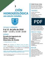 3º Curso Modelación Hidrogeológica