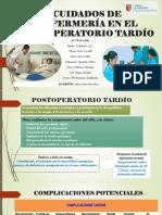 PPT POSTOPERATORIO TARDIO ....pptx