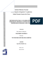 Metodologías Para La Elaboración de Un Sismograma Sintético y Estimación de Las Propiedades Petrofísicas Del Pozo U