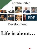 Entrepreneurship Development Own