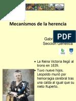 Teórico 13 - ADN, Cromosomas y Los Mecanismos de La Herencia (2017)