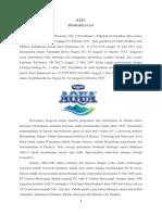 Profil PT Aqua