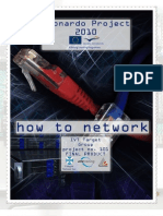 How to Network Brochure - Leonardo 2010
