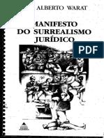 Livro - Manifesto Do Surrealismo Jurídico