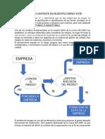 Informe , Pensamiento Basado en Riesgo Iso 9001-2015