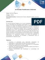 Indicaciones Formato Preinformes e Informes - Química Orgánica