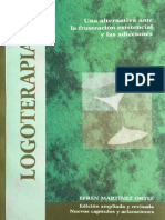 LOGOTERAPIA Una Alternativa Ante La Frustración Existencial y Las Adicciones