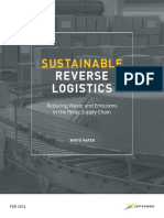 Sustainable Reverse Logistics