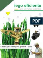 Catalogo de Riego Agricola 2015