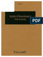 The Flood (Die Flut) by Stravinsky, Igor