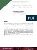 """Aragusuku - 2017 - A """" Ideologia de Gênero """" Como Estratégia Político- Sexual e a Reação Do Conservadorismo No Brasil"""