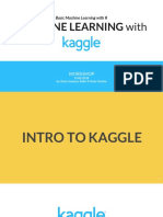 Basic ML &  Kaggle Workshop