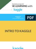 Basic ML &  Kaggle Workshop