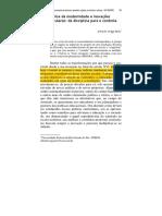 Veiga-Neto - 2008 - Crise Da Modernidade e Inovações Curriculares Da Disciplina Para o Controle