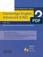 352925814 Cambridge English Advanced Cae 2 With Key PDF