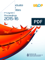 UROP Proceedings 2015-16