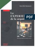263416231 La Experiencia de La Arquitectura