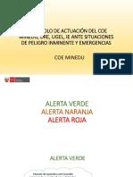 ORGANIZACIÓN DE COMISIÓN DEL COE