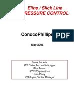 Pressure Control REVISED May 2006