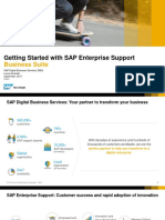 NEW Getting Started With SAP Enterprise Support - 2017