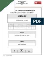 Unidad 2 Programa