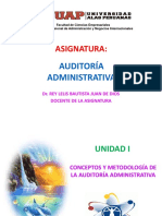 Unidad i de Auditoria Administrativa