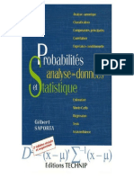 Probabilités Et Analyse Des Données Statistiques