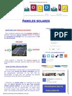 Paneles Solares Funcionamiento Tipos Usos.pdf