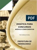 Didática - Modulo Complementar - Simulado
