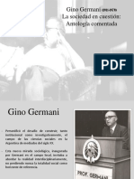 Ponencia Gino Germani
