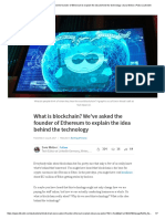 What is Blockchain_ We'Ve Asked the Founder of Ethereum to Explain the Idea Behind the Technology _ Sara Weber _ Pulse _ LinkedIn