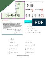 Segunda Parte- Matematica Matutino