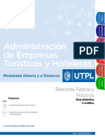 D14308/RELACIONES PUBLICAS Y PROTOCOLO GUÍA