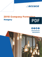 2018 Company formation in Hungary