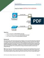 Ccnpv7.1 Switch Lab1 Baseline Instructor