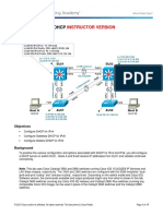 Ccnpv7.1 Switch Lab5-2 Dhcp46 Instructor