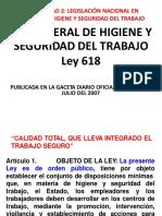 Presentación Ley General de HST