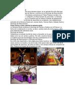 Semana Santa y Calendarios Mayas