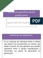 Estructura Genética de Las Poblaciones