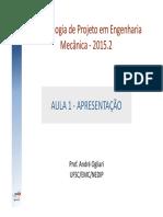 Projeto e Metodologia