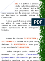 Clase Taxonomia