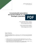 Caracterización Panorámica Del Español en Colombia