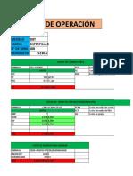 Costo de Operacion Trabajo 2