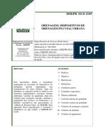 09-DER-PR. ES-D 12-05 - Drenagem - Dispositivos de drenagem pluvial urbana.pdf